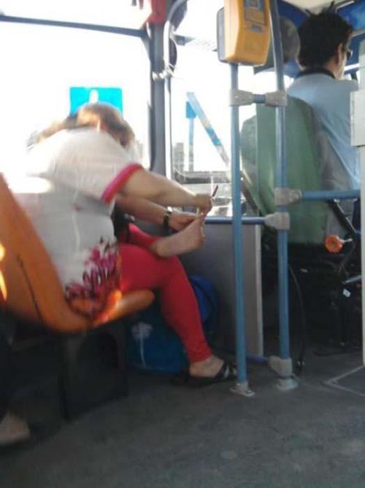 Τα πιο παράξενα περιστατικά στο λεωφορείο (6)