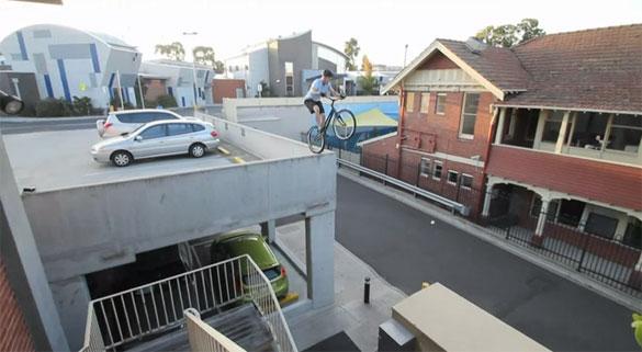 Parkour με ποδήλατο