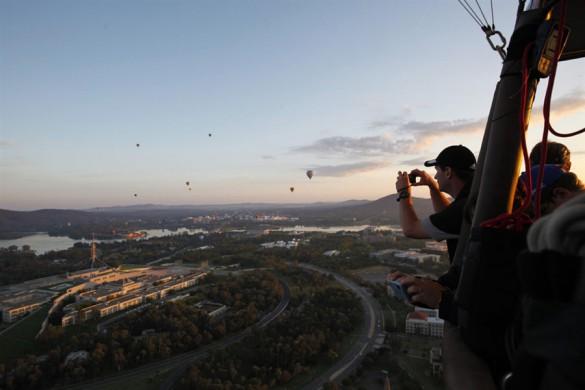 Φωτογραφία της ημέρας: Η θέα από αερόστατο (1)