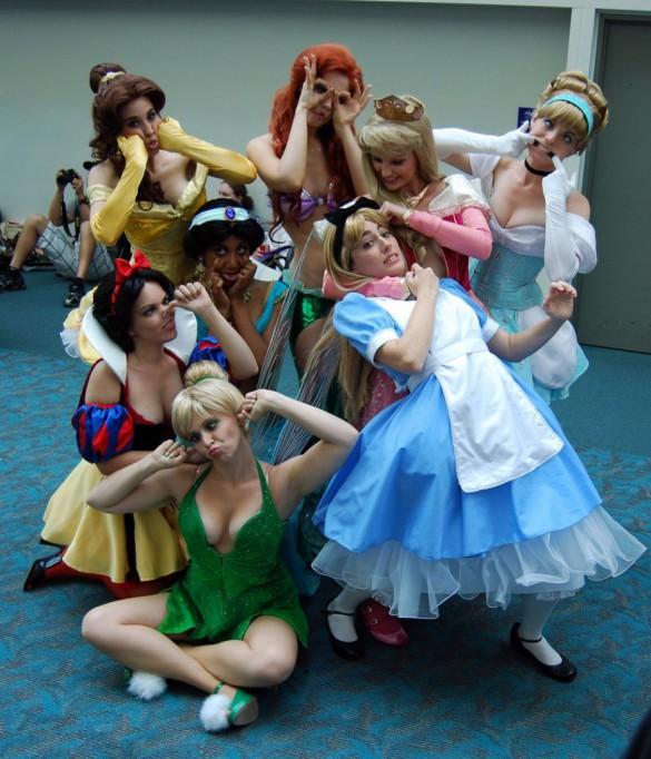 Φωτογραφία της ημέρας: Οι πριγκίπισσες της Disney ξεσάλωσαν