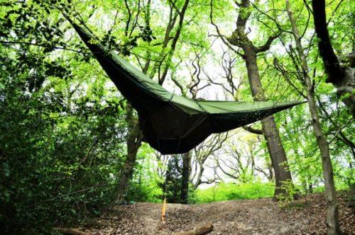 Πρωτοποριακή κρεμαστή σκηνή camping (2)