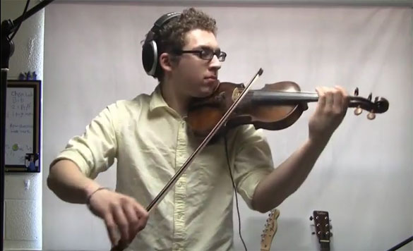 Set Fire To The Rain - Violin Cover by Nick Kwas