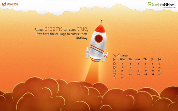 Wallpapers ημερολόγια Απριλίου 2012 (3)