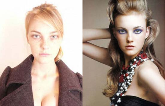 Supermodels χωρίς make-up (5)