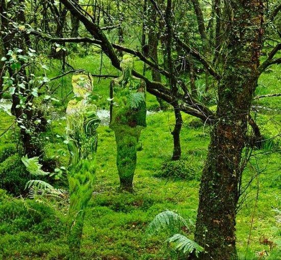 Τρομακτικά γλυπτά μέσα στο δάσος (6)