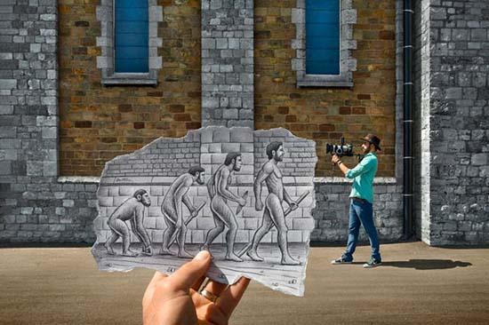 Φωτογραφία + Σκίτσο = Απίστευτη τέχνη (8)