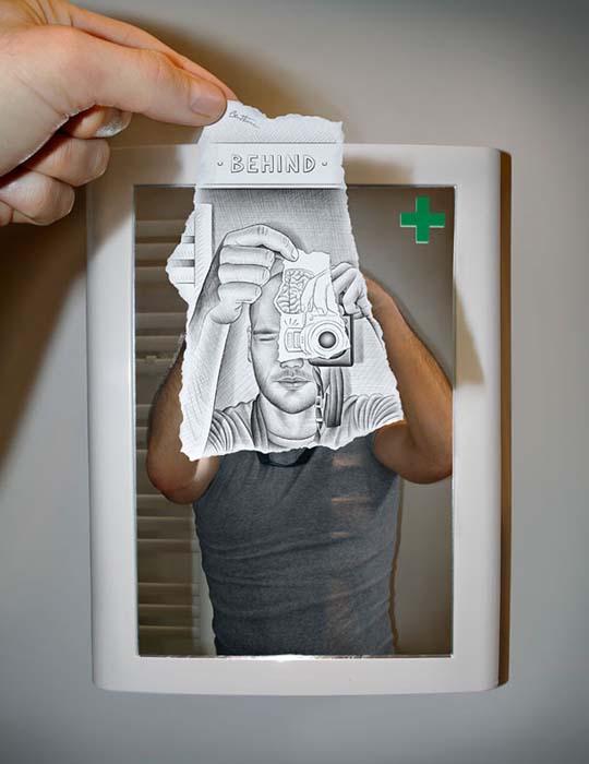 Φωτογραφία + Σκίτσο = Απίστευτη τέχνη (13)