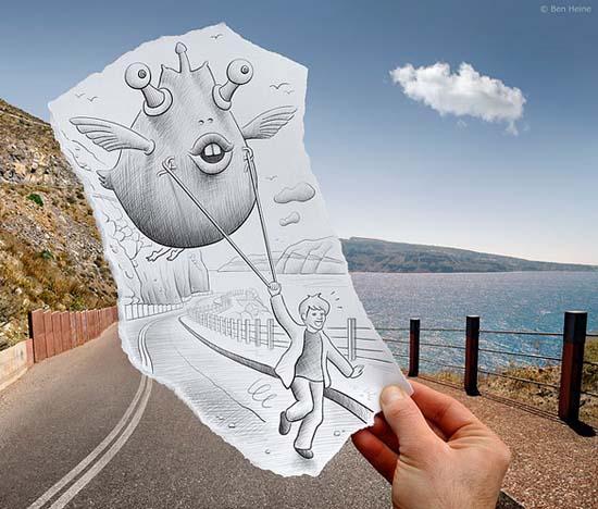Φωτογραφία + Σκίτσο = Απίστευτη τέχνη (15)