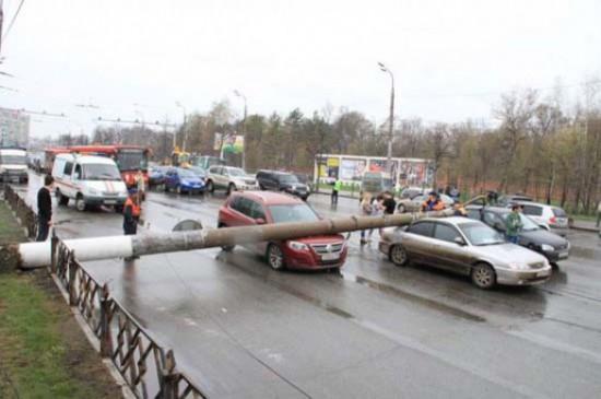 Αναπάντεχο τροχαίο ατύχημα στη Ρωσία (1)