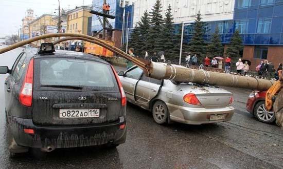 Αναπάντεχο τροχαίο ατύχημα στη Ρωσία (6)