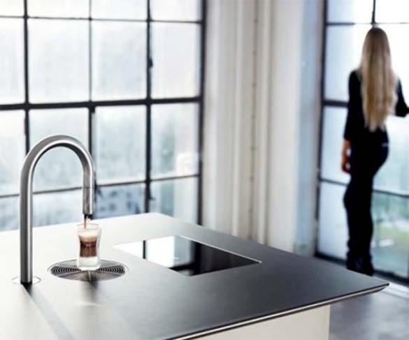 Coffee Faucet: Εντυπωσιακή μοντέρνα καφετιέρα (3)