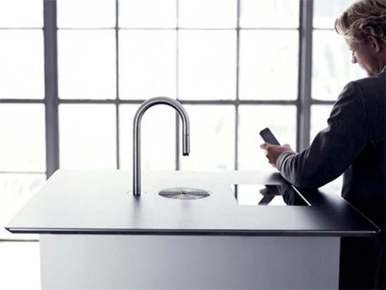 Coffee Faucet: Εντυπωσιακή μοντέρνα καφετιέρα (4)