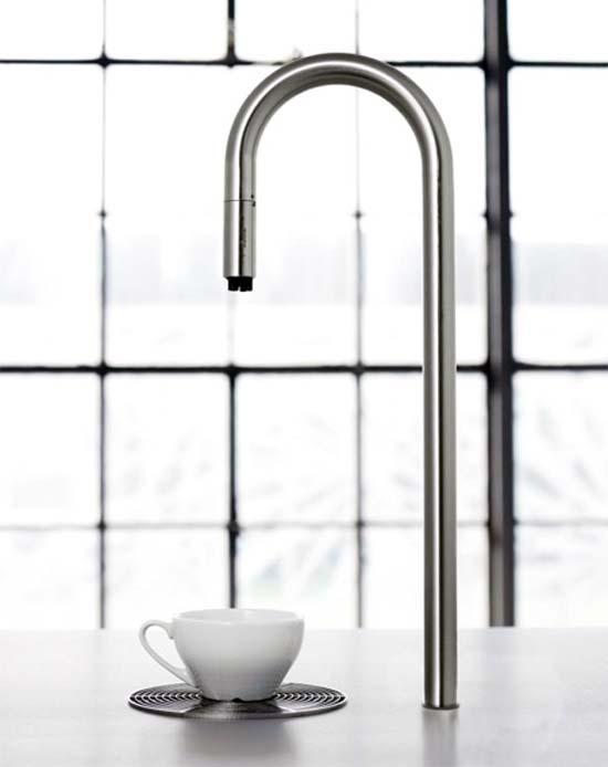 Coffee Faucet: Εντυπωσιακή μοντέρνα καφετιέρα (5)