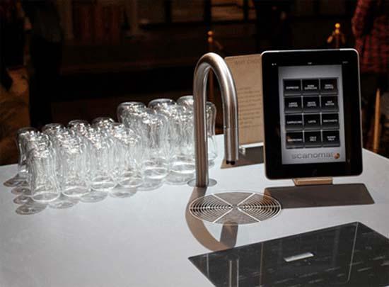 Coffee Faucet: Εντυπωσιακή μοντέρνα καφετιέρα (7)