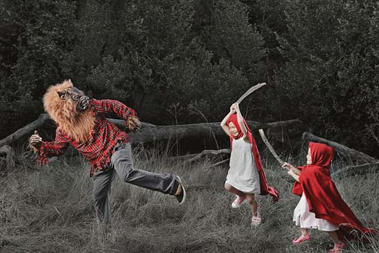 Δημιουργικός πατέρας φωτογράφος βγάζει εκπληκτικές φωτογραφίες με τις κόρες του (2)
