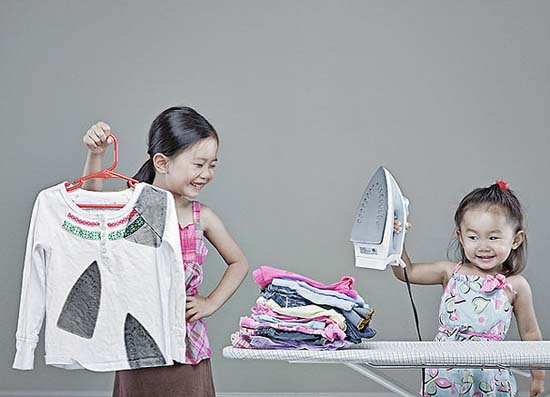 Δημιουργικός πατέρας φωτογράφος βγάζει εκπληκτικές φωτογραφίες με τις κόρες του (3)