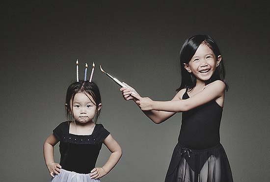 Δημιουργικός πατέρας φωτογράφος βγάζει εκπληκτικές φωτογραφίες με τις κόρες του (13)