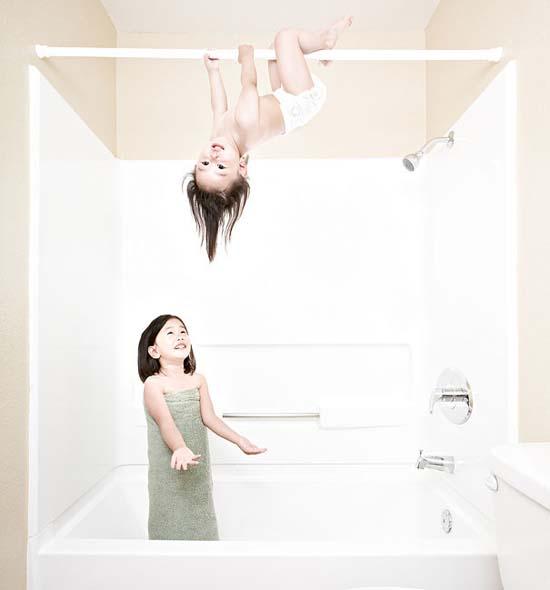 Δημιουργικός πατέρας φωτογράφος βγάζει εκπληκτικές φωτογραφίες με τις κόρες του (25)