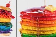 Φαγητά στα χρώματα του ουράνιου τόξου (1)