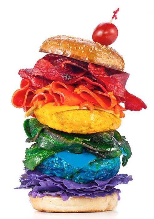 Φαγητά στα χρώματα του ουράνιου τόξου (5)