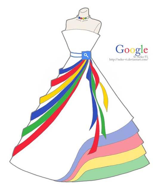 Φορέματα εμπνευσμένα από το Facebook και άλλα δημοφιλή sites (2)