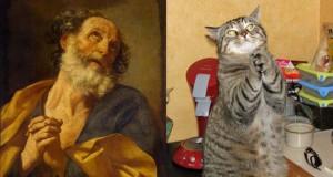 Όταν οι γάτες μιμούνται διάσημους πίνακες ζωγραφικής…