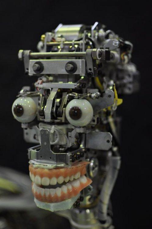 Γυναίκα ρομπότ που μοιάζει σχεδόν αληθινή (1)