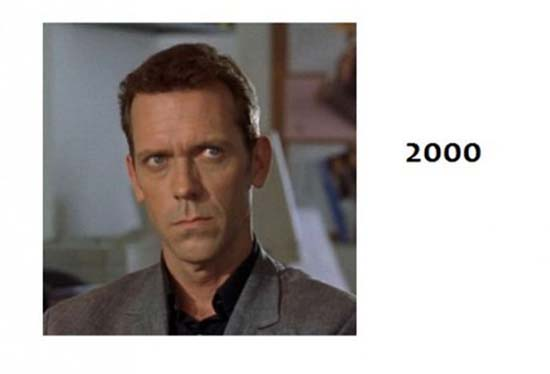 Hugh Laurie - «Dr House»: 1985-2012 μέσα από φωτογραφίες (4)