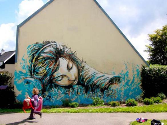 Ξεχωριστή τέχνη του δρόμου από την Alice Pasquini (7)