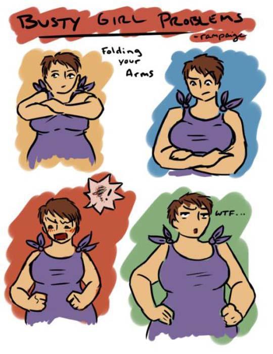 Μεγάλο στήθος - Μεγάλα προβλήματα (9)