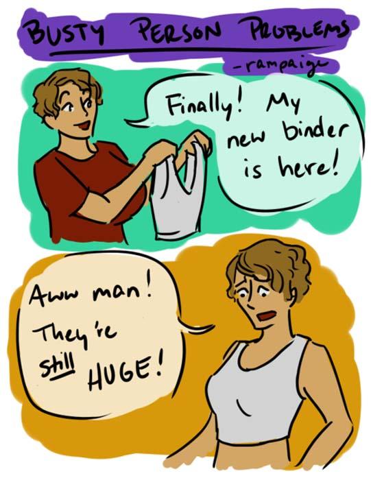 Μεγάλο στήθος - Μεγάλα προβλήματα (20)