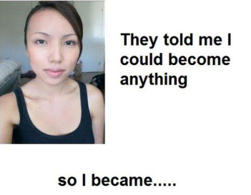 Απίστευτες μεταμορφώσεις νεαρής γυναίκας σε διάσημα πρόσωπα (1)