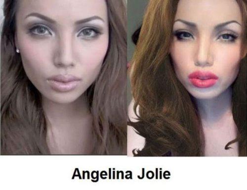 Απίστευτες μεταμορφώσεις νεαρής γυναίκας σε διάσημα πρόσωπα (2)