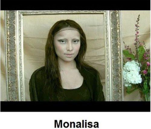 Απίστευτες μεταμορφώσεις νεαρής γυναίκας σε διάσημα πρόσωπα (3)