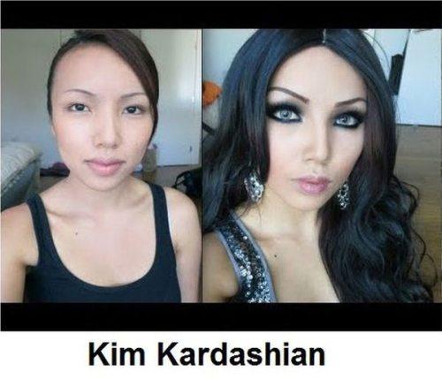 Απίστευτες μεταμορφώσεις νεαρής γυναίκας σε διάσημα πρόσωπα (10)