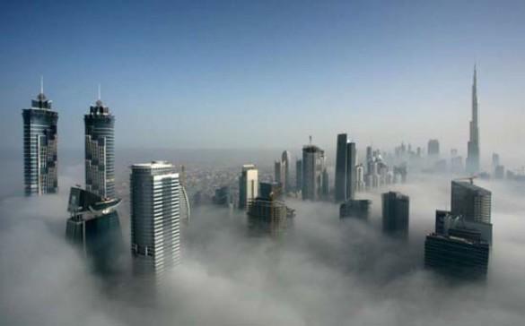 Όταν η ομίχλη σκεπάζει το Dubai (1)