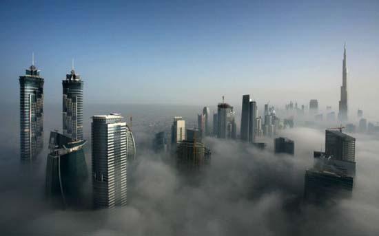 Όταν η ομίχλη σκεπάζει το Dubai (3)