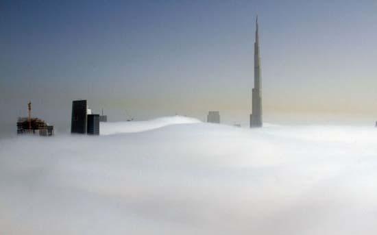 Όταν η ομίχλη σκεπάζει το Dubai (4)