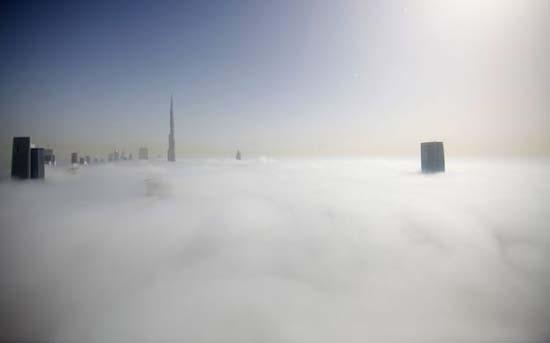 Όταν η ομίχλη σκεπάζει το Dubai (5)