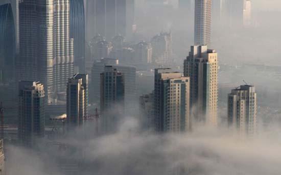 Όταν η ομίχλη σκεπάζει το Dubai (6)