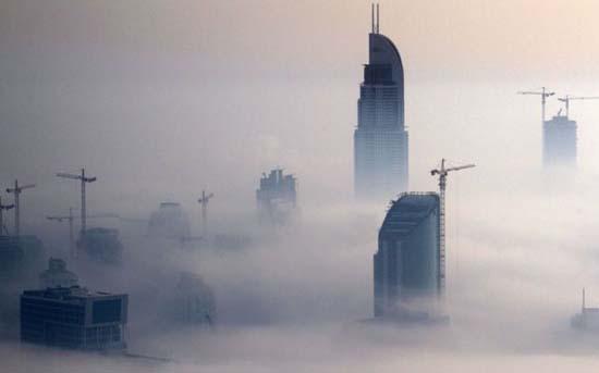Όταν η ομίχλη σκεπάζει το Dubai (8)