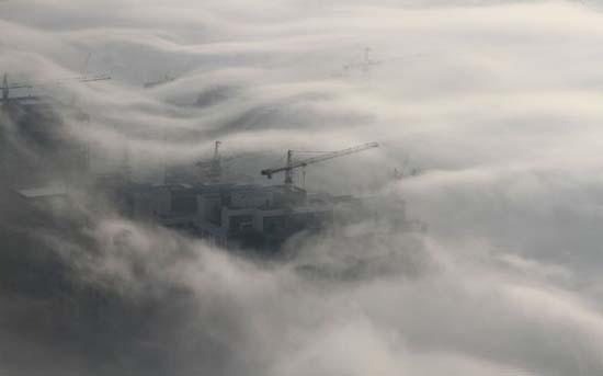 Όταν η ομίχλη σκεπάζει το Dubai (10)