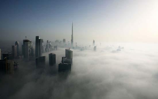 Όταν η ομίχλη σκεπάζει το Dubai (11)