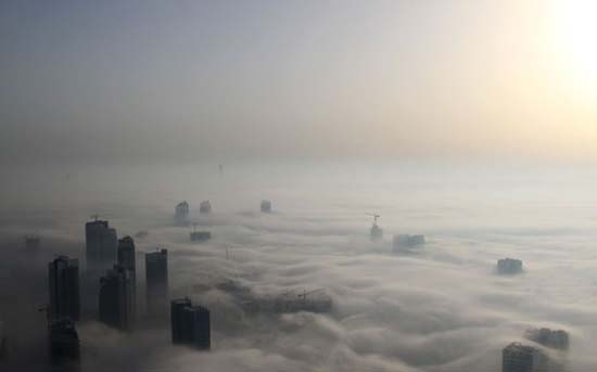 Όταν η ομίχλη σκεπάζει το Dubai (13)