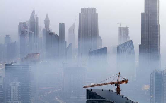Όταν η ομίχλη σκεπάζει το Dubai (14)