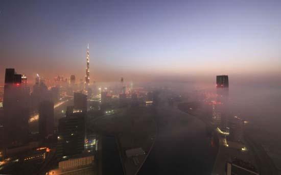 Όταν η ομίχλη σκεπάζει το Dubai (16)