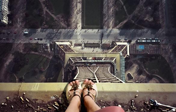 Ο πύργος του Άιφελ από μια διαφορετική οπτική   Φωτογραφία της ημέρας