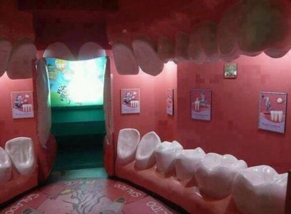 Η πιο πρωτότυπη αίθουσα αναμονής οδοντιατρείου | Φωτογραφία της ημέρας