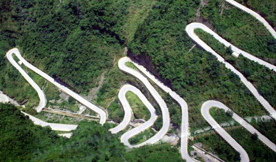 Ο πιο επικίνδυνος δρόμος στην Κίνα (3)