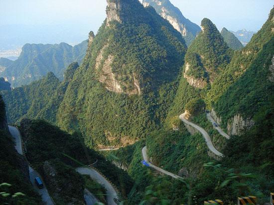Ο πιο επικίνδυνος δρόμος στην Κίνα (4)